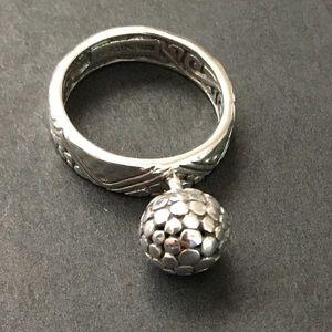 SARDA sterling silver design size 7 detailed ring